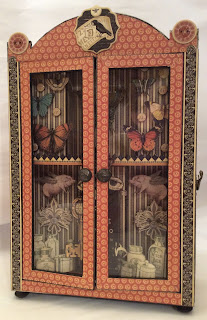 Olde curiosity Shoppe Curio Cabinet Kit My Creative Spirit Clare Charvill Graphic 45
