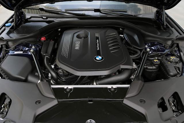 Novo BMW Série 5 2018 - motor