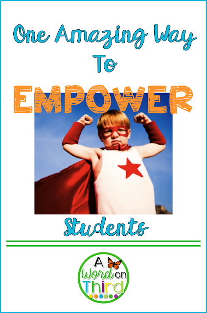 One Amazing Way To Empower Students