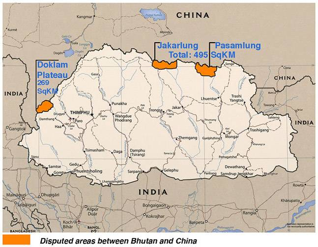 Why doklam crisis with china is good for india vijay sardana online when i tried to locate doklam on google maps of india china and bhutan i was not able to locate this was the significance of this place on the world map gumiabroncs Choice Image