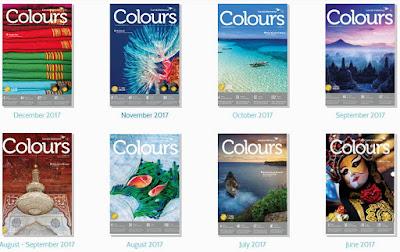 Majalah Penerbangan Garuda - Majalah Colours