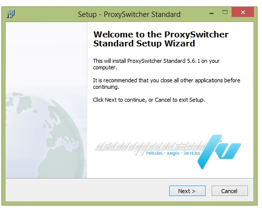 Proxy Switcher PRO Versión 5.8.0.6486 Navegar con Proxy 2012