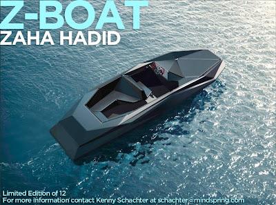 Zaha Hadid Z Boat