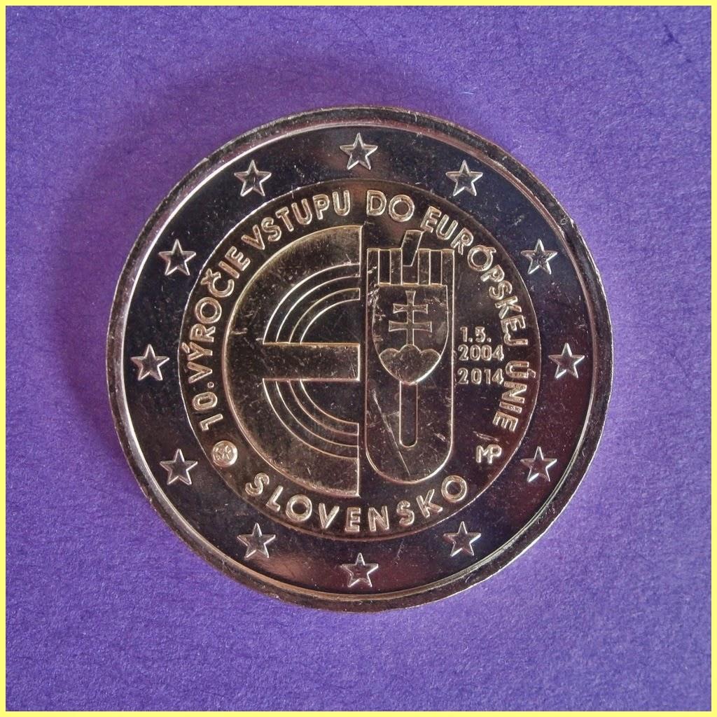 Eslovaquia 2014 2 Euros conmemorativos