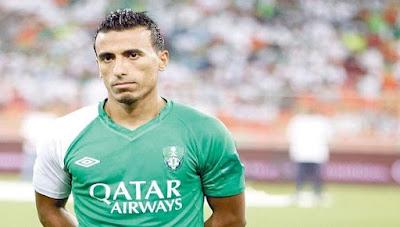 """إصابة اللاعب """"محمد عبد الشافي"""" لاعب أهلي جدة إصابة بالغة بركبته"""