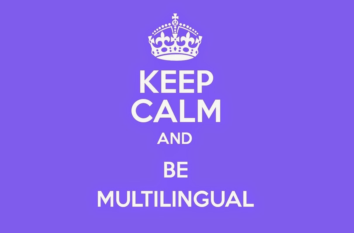 Keep calm and be Multilingual - MyBloggerTricks