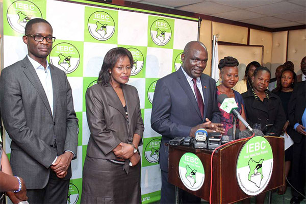 "The Independent Electoral and Boundaries Commission (IEBC) has come out to say that CEO, Ezra Chiloba is still on suspension but has not been fired.  In a tweet in the wake of media reports that the CEO was terminated as a Commision's employee, the commission said that ""it is not true that Mr Chiloba had been dismissed from employment.""  They added that a disciplinary process is ongoing and a decision will be made."