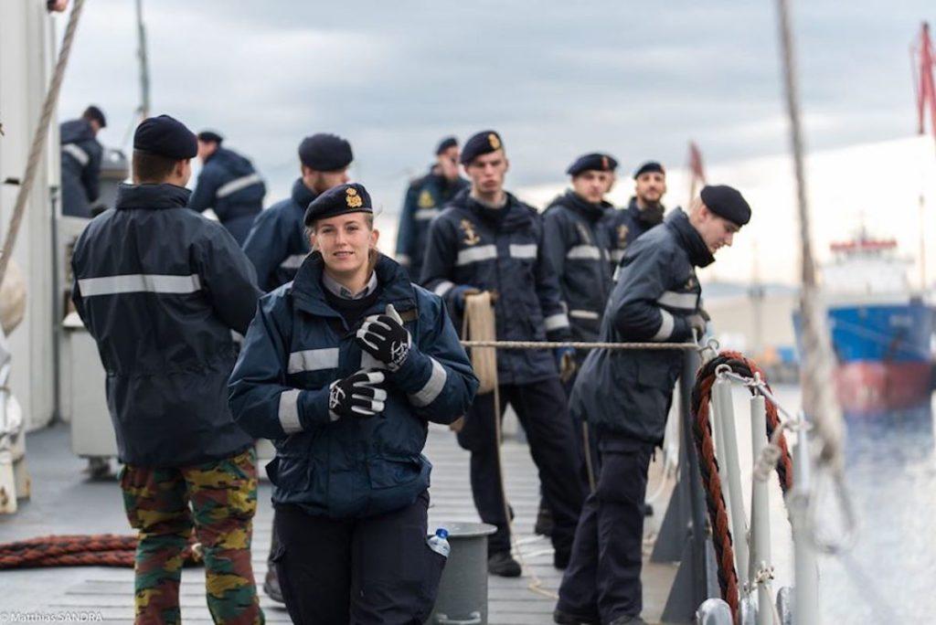 Голландія і Бельгія вводять новий малюнок форми для ВМС