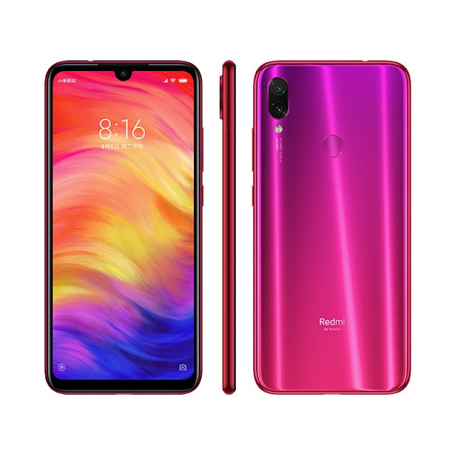 Redmi Note 7 With the Dot Notch screen, Snapdragon 660 SoC was launched in India
