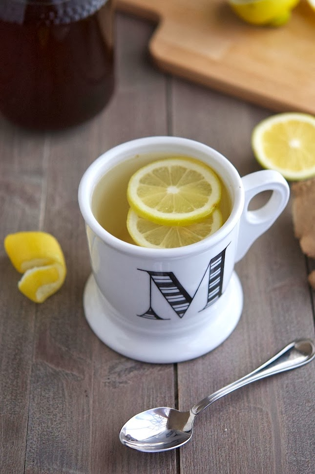 Honey Lemon & Ginger Tea