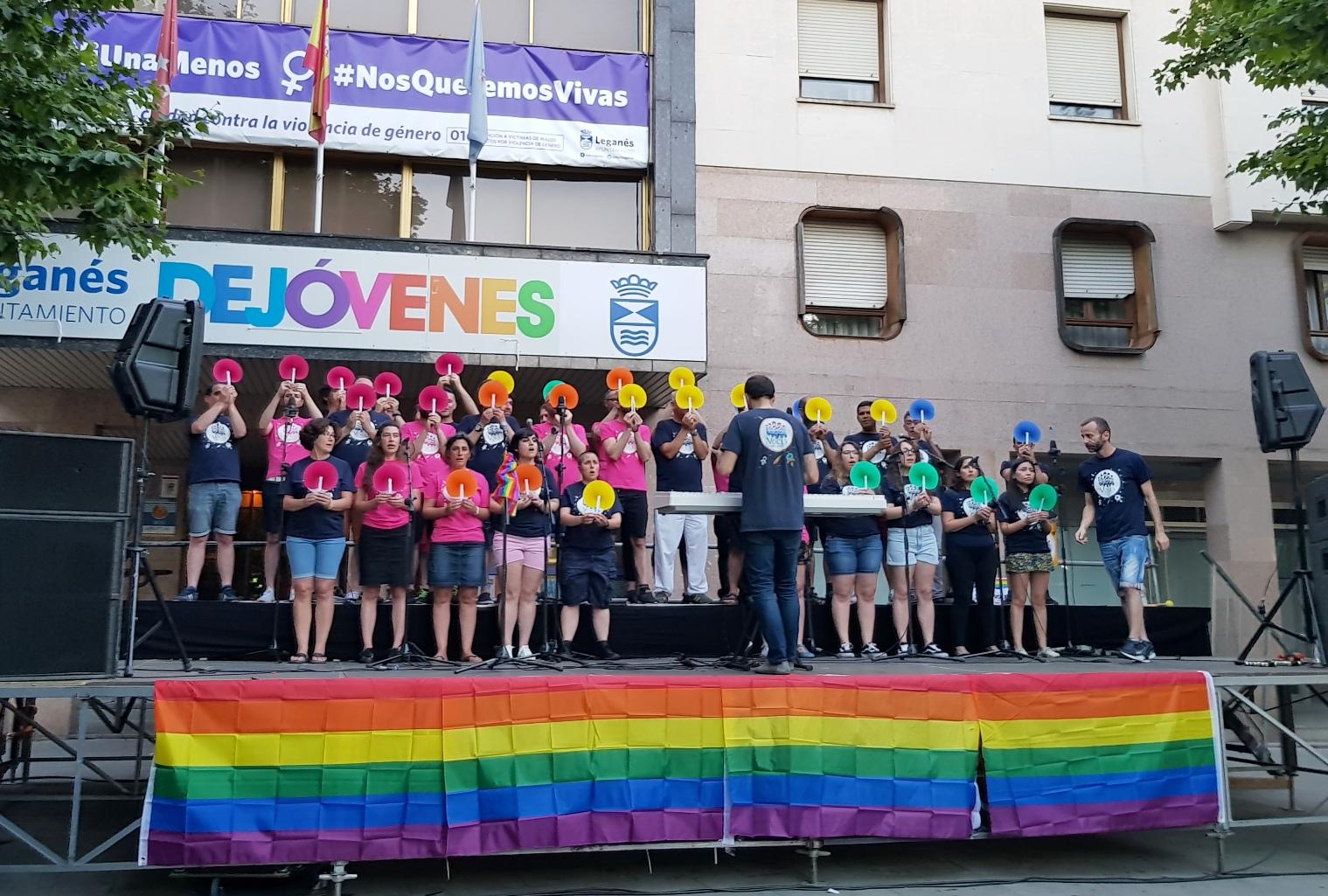 Arrancan los actos de celebración del Orgullo LGTBI en Leganés ...