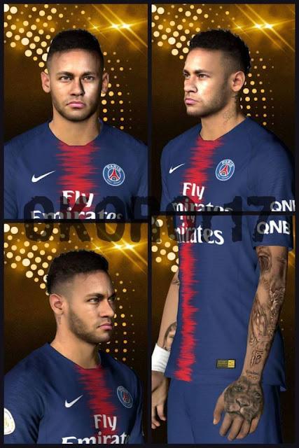 Neymar World Cup 2018 Final Face PES 2017
