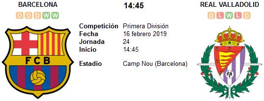Barcelona vs Real Valladolid en VIVO