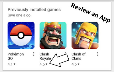 How to Review and Rate an app on the Google Play Store