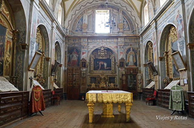 sacristía de la Iglesia de Nuestra Señora de la Asunción, Briones