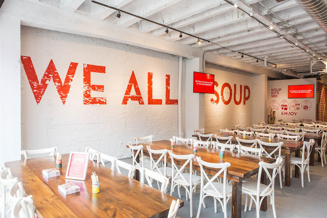 We All Soup Toronto Pop Up Space queen street