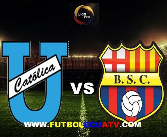 Universidad Católica vs Barcelona SC se miden desde las 17h00 horario designado por la FEF a disputarse en el reducto Olímpico Atahualpa siendo uno de los partidos más importante de la fecha 18 de la Serie A Ecuador, teniendo como arbitraje principal a Vinicio Espinel con transmisión del autorizado GolTV.