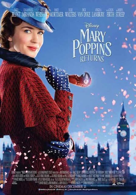 الإصدارات العالية الجودة HD في شهر مارس 2019 Mars فيلم mary poppins returns
