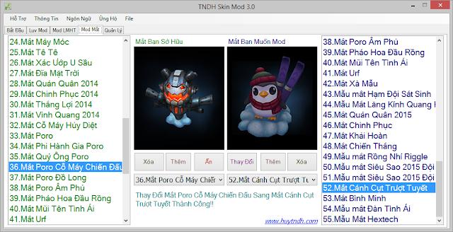 Get Code TNDH Skin Mod