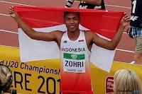 Biodata Muhammad Zohri Juara Dunia Atletik U-20 Lari 100 Meter Putra