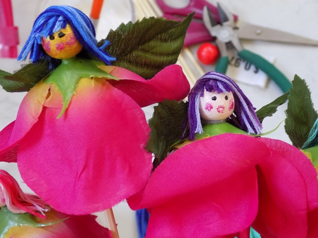 One savvy mom nyc area mom blog silk flower fairies a super you could have each child make their own silk flower fairy and give them a smallinexpensive little potted plant to add them to as a party favor mightylinksfo