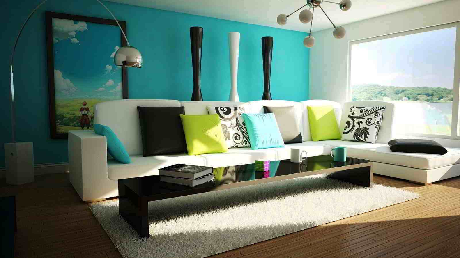 Warna Cat Dinding Ruang Tamu Elegan