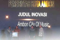 Kembangkan Ambon City Of Music, Pemkot Terima Penghargaan Inovasi Pelayanan Publik