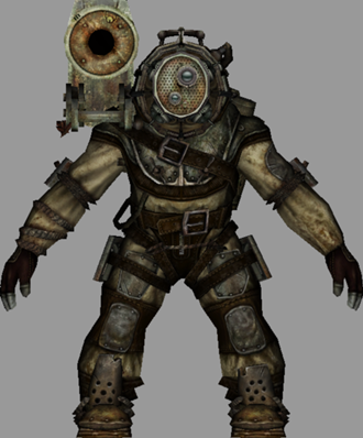 Bioshock S Protector The Big Daddy Knights Of The Video