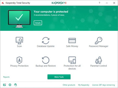 Kaspersky Total Security Free Download-Software