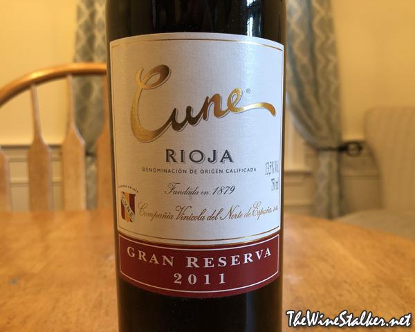 CVNE Rioja Gran Reserva 2011