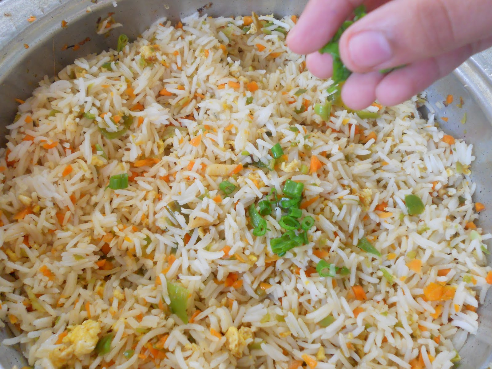 Easy fried riceep by step cooking is easy ccuart Choice Image