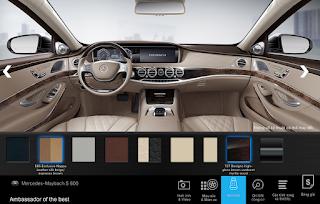 Nội thất Mercedes Maybach S600 2016 màu Vàng Silk / Nâu Espresso (505)