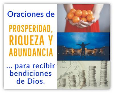 Oraciones de prosperidad Riqueza y Abundancia