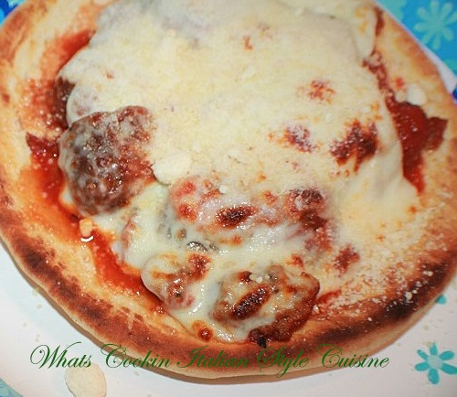 Chicken Parmesan Meatball