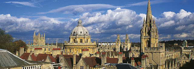 Fuso horário entre Oxford e Brasil