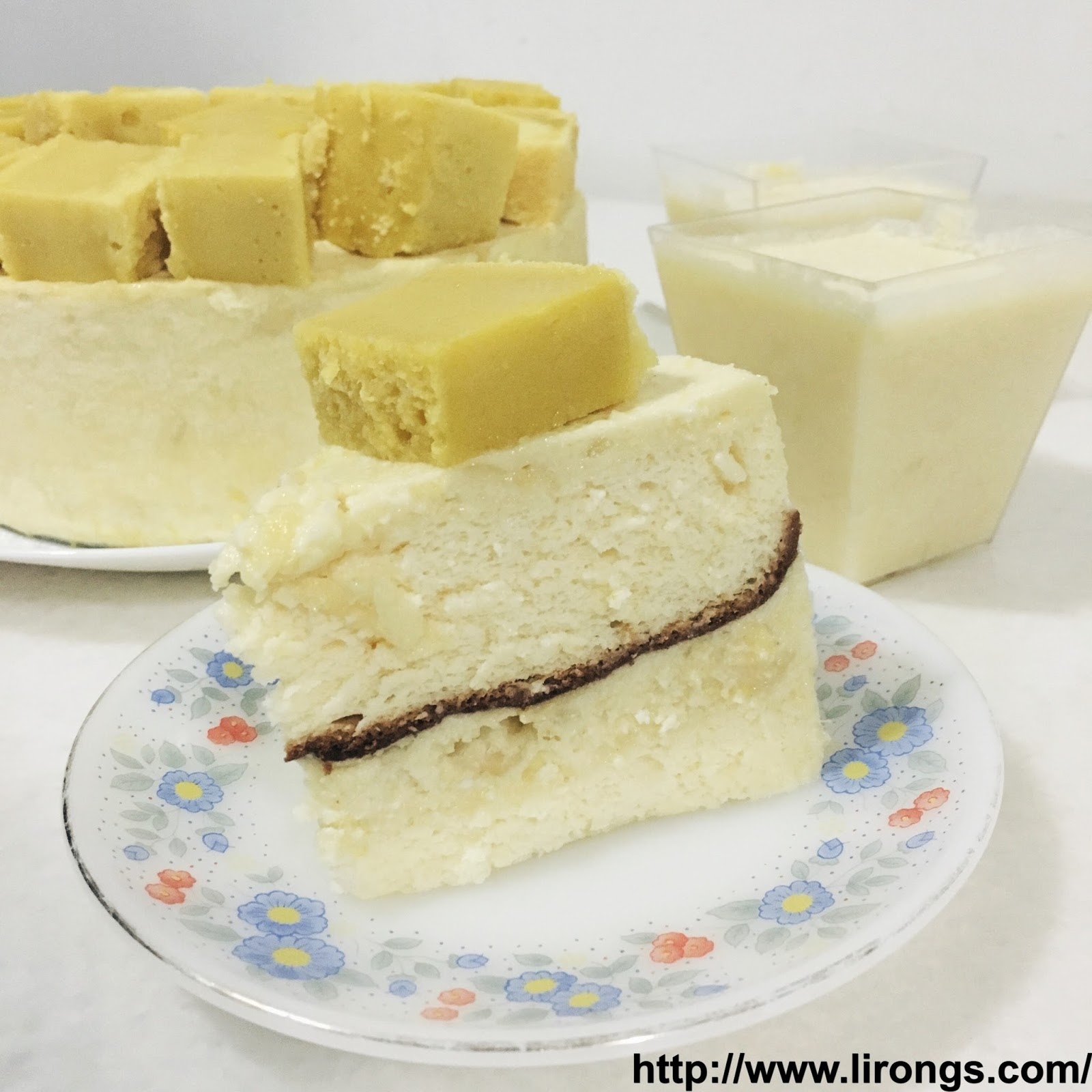 Durian Mousse Cake Recipe Singapore