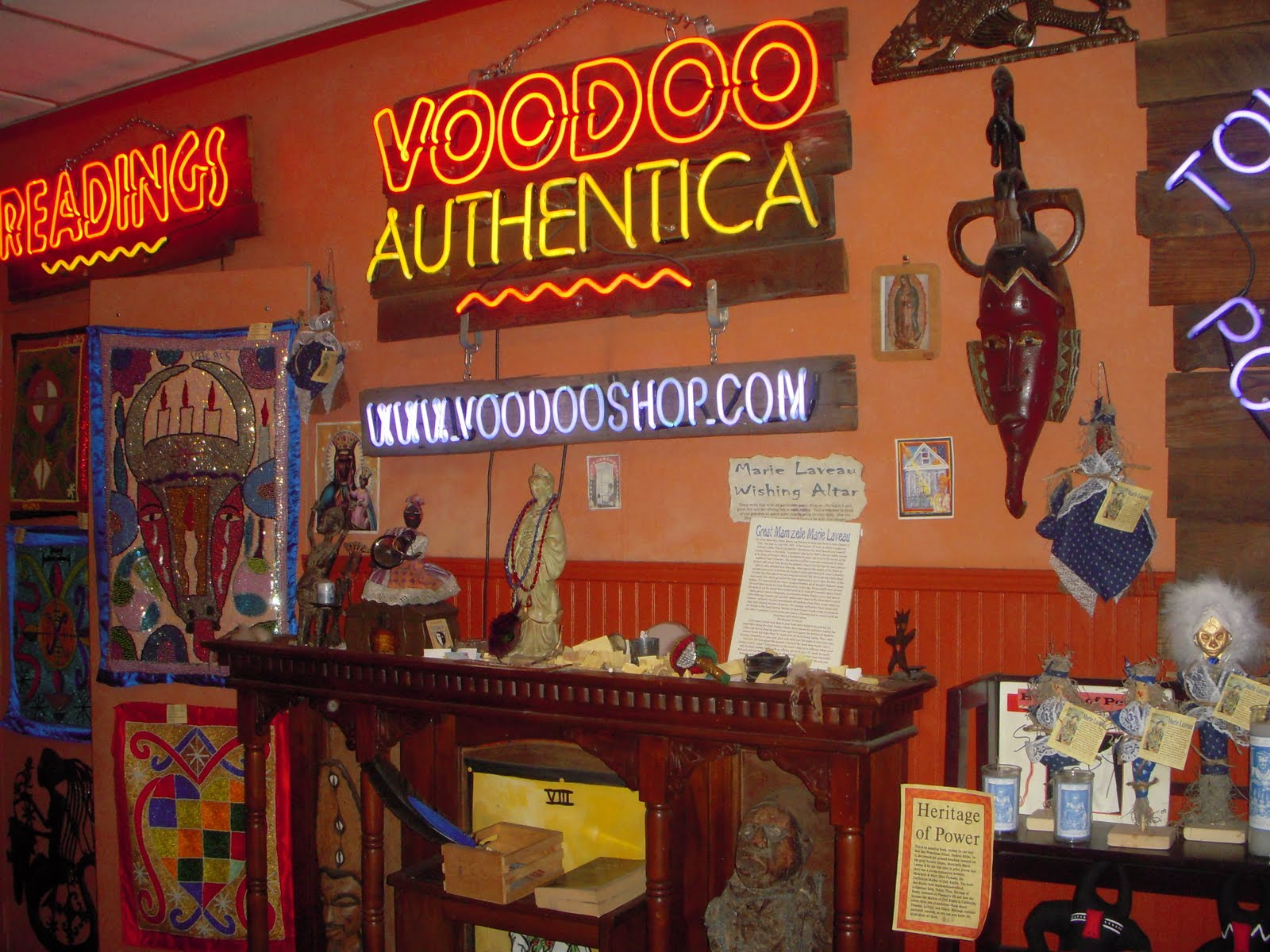 Image result for Voodoo Authentica new orleans