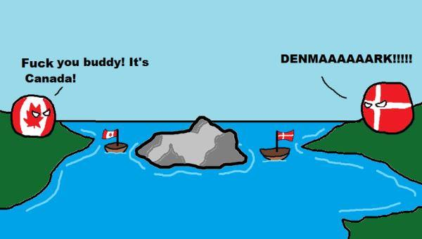 Ilustrasi Perang Denmark - Kanada