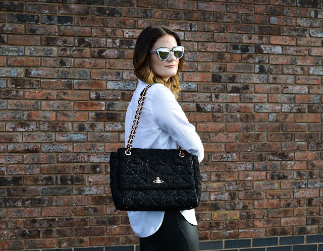 Whistles White Shirt Vivienne Westwood Handbag