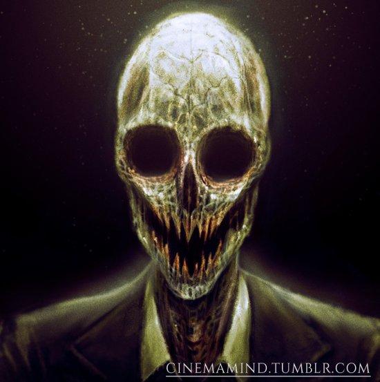 David Romero artstation arte ilustrações sombrias terror perturbador horror