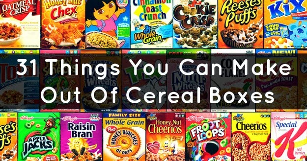 How do you make a periscope cereal box