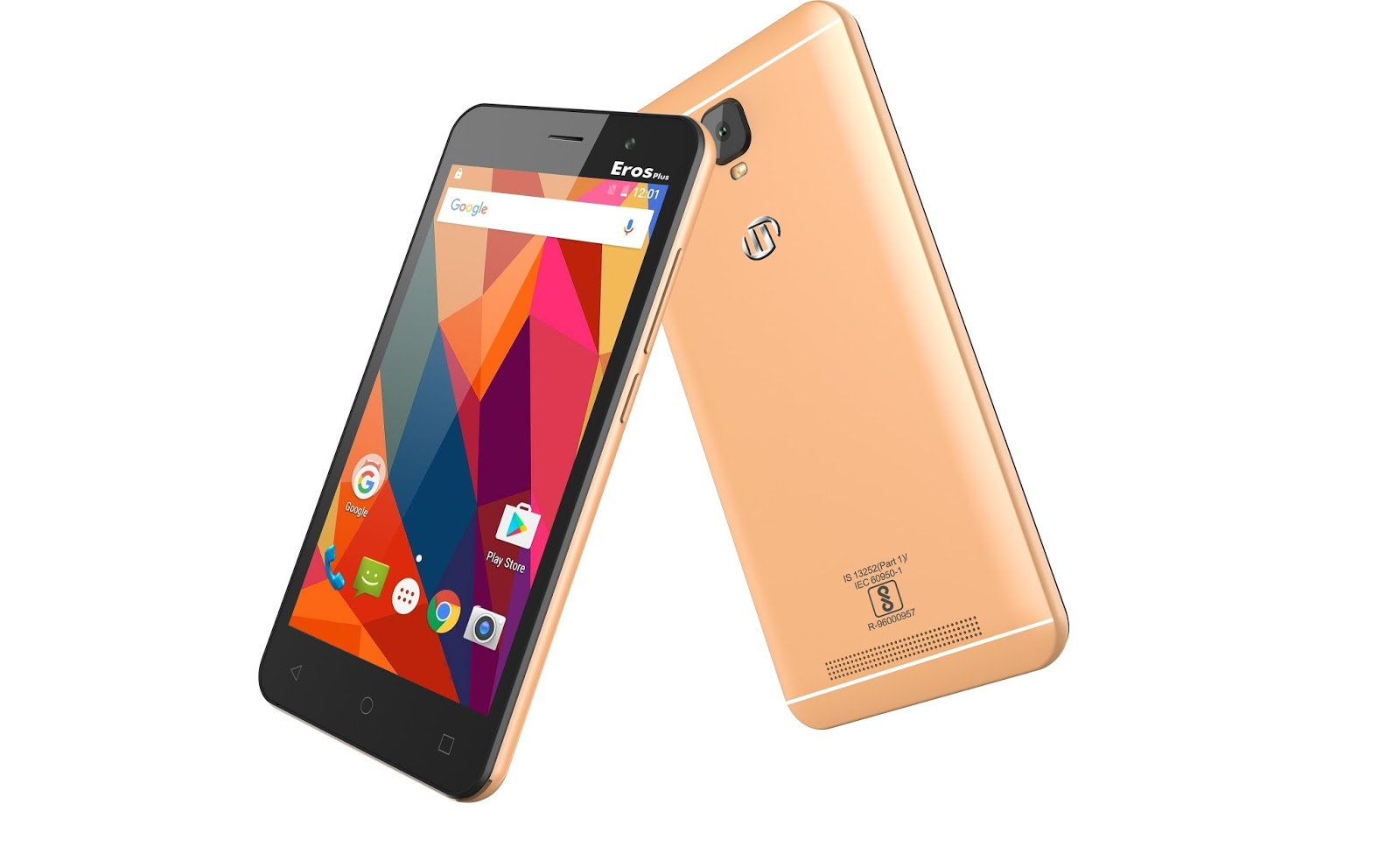M-tech Eros Plus Grey budget smartphone in India at 4000