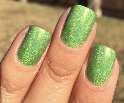 Cupcake Polish; The Olympics Collection  - I'm A Soccer For Green