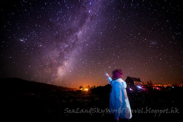 Lake Tekapo Galaxy, milky way, 銀河, 星空, 特卡波湖