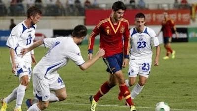 اهداف مباراة اسبانيا والبوسنة اليوم الاحد 29 مايو 2016 وملخص كورة يوتيوب نتيجة لقاء الماتادور الدولي الودي