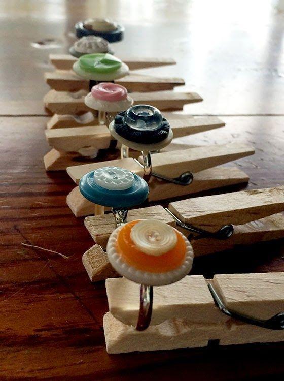 Reciclagem artesanato criativo expositor bijuterias