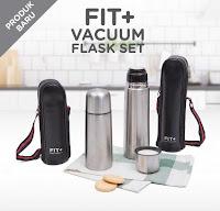 Dusdusan Fit + Vacuum Flask Set ANDHIMIND