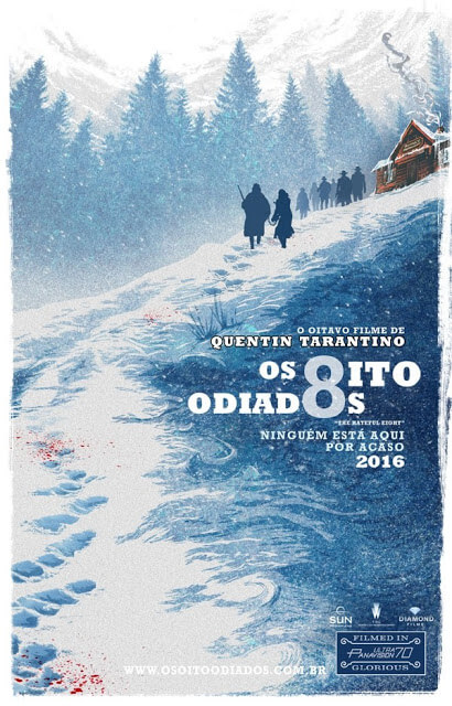 os oito odiados - Quentin Tarantino - os 8 odiados - oito odiados - 8 odiados - samuel l. jackson - faroeste - suspense - drama - resenha - resenha de filme - assistir - faroeste diferente filme bom - recomendação de filme