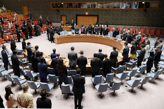 Kuwait, Ivory Coast, Guinea, Netherlands, Peru and Poland officially join the UN Security Council