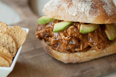 Hawaiian Pulled Pork Sandwich